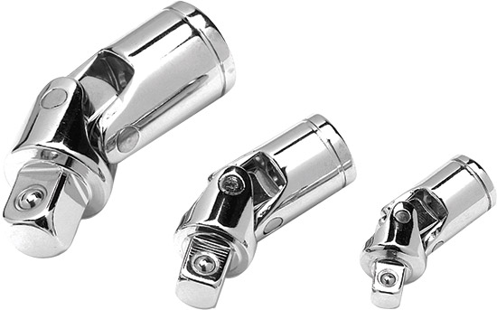 Chrome vanadium construction for strength and durabilityPolished nickel chrome plated finishU-joint