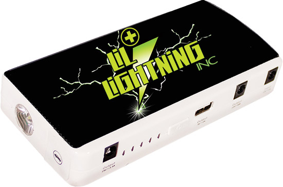 RP-2 FEATURES12 Volt, 12000 mA-h lithium battery200 amp (400 peak amp) jump starting ability, enough