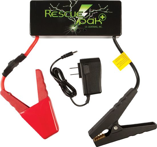RP-3 FEATURES12 Volt, 14000 mA-h lithium battery300 amp (600 peak amp) jump starting ability, enough