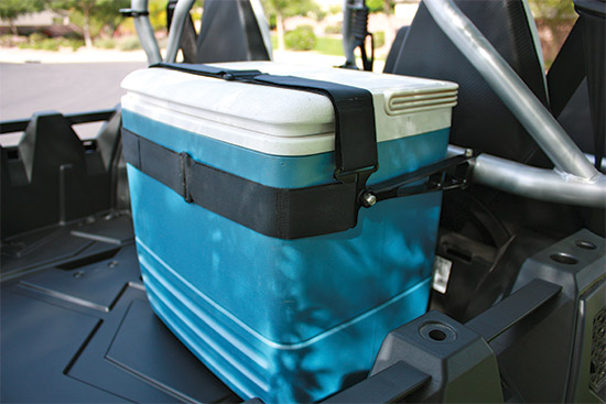 The Axia Alloys Cargo System is the most versatile UTV mounting system on the market. These two adju