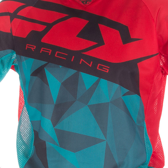 When it starts to get hot, it's time to break out Kinetic Mesh racewear. The superior breathability
