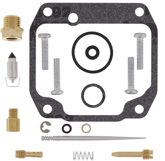 Kits include all of the necessary components to repair a carburetorKit includes all O-rings, gaskets