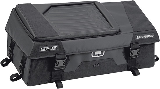 Rigid aero construction holds shape when emptyZipper-less main compartment opening for ease of acces