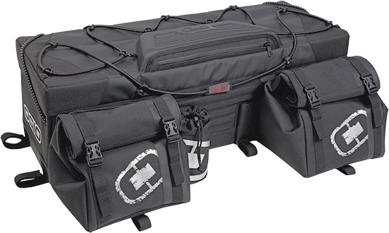 Rigid construction holds shape when emptyZipper-less main compartment opening for ease of accessConv