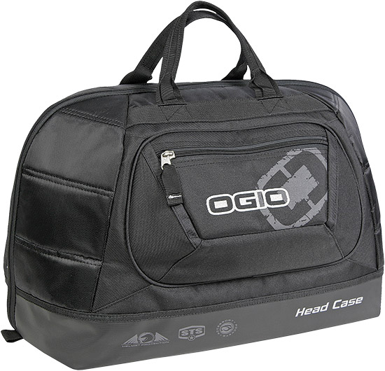 Oversized helmet bag fits all helmet brands and sizes with fins and withoutiFOM integrated foam pane