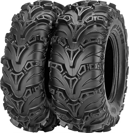 Redesigned tread pattern provides better traction,improves mud clean-out and maximizes ride comfortI