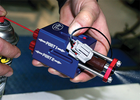 Easily cleans most fuel injectorsWill flush and back flush injectors for best possible cleaning proc