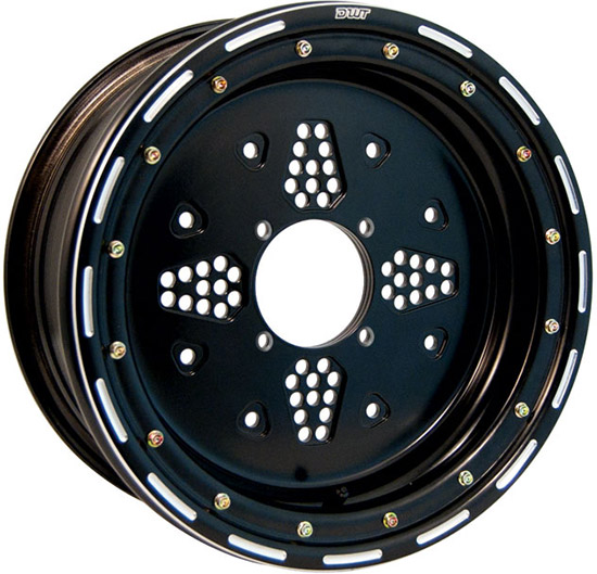 Universal Built in Rock Guard. Works with all stock front hubs and most aftermarket hubs.Stops outsi