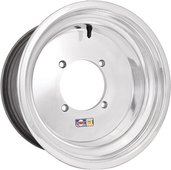 .190 6061-T6 aluminumRolled inner and outer lipsReinforced centerTapered lug holesPre-installed valv