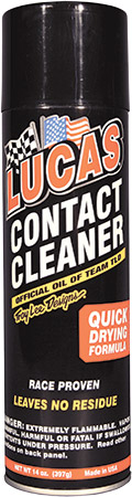 Formulated with a unique blend of solvents, cleaning agents and propellantsRemoves oil, dirt and moi