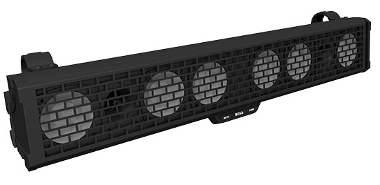 "Fully MarinizedIP68 Weatherproof / Dustproof34"" 700w (8) 3"" High Power Full Range Speakers + (2) 1"""