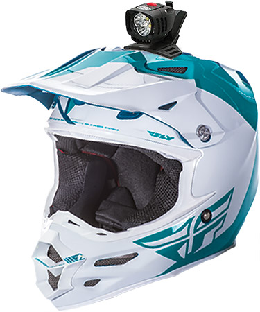 Pro 1800 Personal Helmet Lights•Rugged design, specifically for off road conditions•Custom