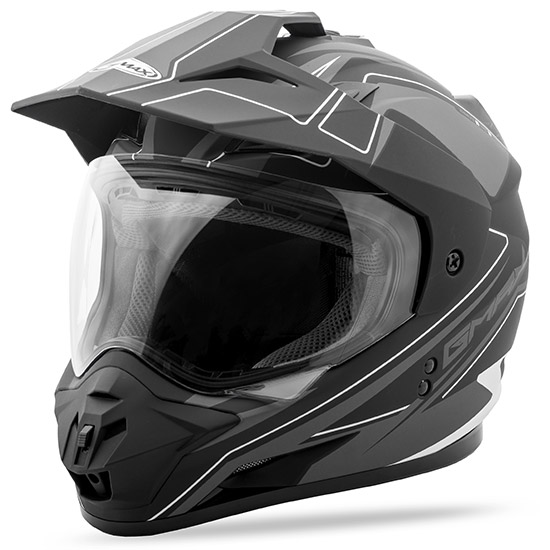 GMAX is extremely excited to introduce the all new GM11 ADV helmet series. This all new GMAX dual sp