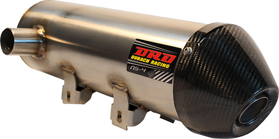 The most popular exhaust in the DR.D line up. The DR. D SS/AL (Stainless Steel Tubing/Aluminum Can)