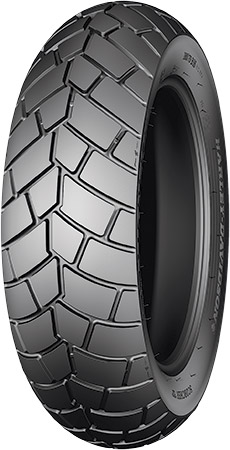"Impressive Durability: Innovative ""reverse"" tread design combined with Michelin's"
