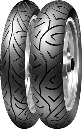 •Bias ply tire with modern performance/mileage for late '70s to early '90s bikes&bu
