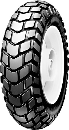 "•Traditional scooter tire•Aggressive on/off tread pattern for scooters with 10"" wheels&bul"
