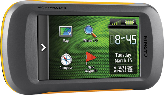 "Bright 4"" sunlight readable, 65k color TFT, touchscreen display (272 x 480 pixels)High-sensitivity,"