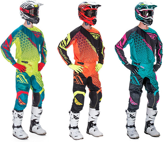 Fully ventilated mesh jersey and pant to help you  make the most out of the great outdoors duri