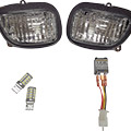 Turn signal lens kit, available with clear or smoke lensIncludes white/amber Switchback LED bulbs wh