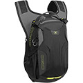 Dedicated Anti-Sloshing hydration bladder compartment with hook & loop secure strap for holding