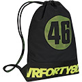 420D poly double ripstopDrawstring topDurable cord strapsEasy-access front zippered pocketMesh venti