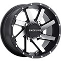 Black/Machined finish8-Spoke designSize 14x74/110, 4/115, 4/137 and 4/156 bolt patternsTapered hole