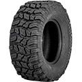 """Ultra-durable, puncture-resistant 6 PR """"New-Tech"""" carcass""""Smooth-Ride"""" Technology and aggressive tre"""