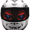 BE NOTICEDPerforated windscreen decal- FOR OFFROAD/SHOW USE ONLYBe different with this durable show