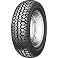 •Traditional scooter tire•Central grooves for excellent wet performance•Stiff carcass