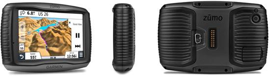 "5"" dual-orientation, sunlight-readable, glove-friendly touchscreen displayHands-free phone control"