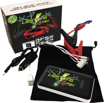 LITHIUM JUMP START PACK ULTRA SLIM
