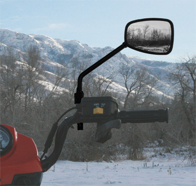ATV-TEK MIRROR ANTI-VIBE ATV