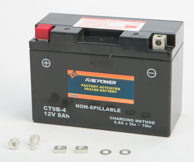 BATTERY FA SEALED CT9B-4 FACTORY ACTIVATED SEALED