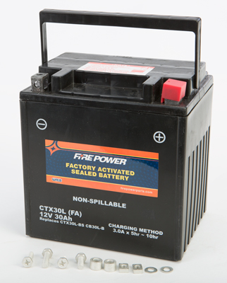BATTERY FA SEALED CTX30L FACTORY ACTIVATED SEALED