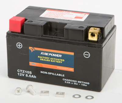 BATTERY FA SEALED CTZ10S FACTORY ACTIVATED SEALED