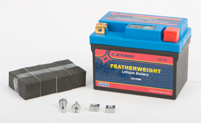 FEATHERWEIGHT LITHIUM BATTERY 150 CCA HJTZ7S-FP-IL 12V/29WH