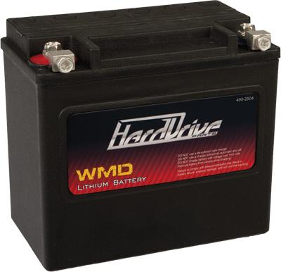 WMD LITHIUM BATTERY 400 CCA HJVT-4-FP