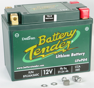 LITHIUM ENGINE START BATTERY 360 CCA